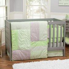 Lauren 3 Piece Crib Bedding Set