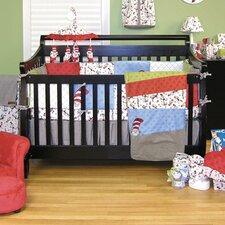 Dr. Seuss Cat In The Hat 3 Piece Crib Bedding Set