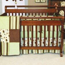 Giggles 3 Piece Crib Bedding Set