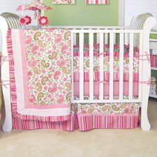 Paisley Park 4 Piece Crib Bedding Set