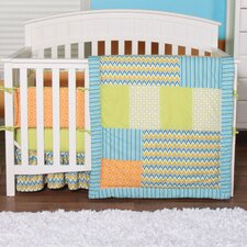 Levi 3 Piece Crib Bedding Set