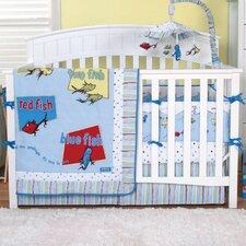 Dr. Seuss 4 Piece Crib Bedding Set