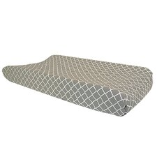 Ombre Gray Palmon Diamond Changing Pad Cover