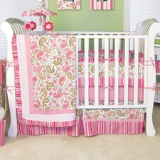 Paisley Park 3 Piece Crib Bedding Set