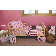 Maya 4 Piece Toddler Bedding Set