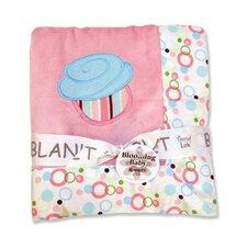 Cupcake Framed Receiving Blanket