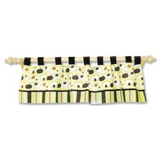 """Giggles 53"""" Curtain Valance"""