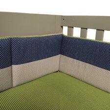 Perfectly Preppy Crib Bumper