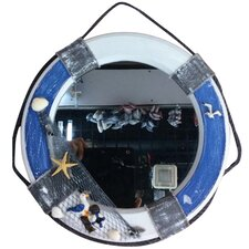 Nautical Life Saver Mirror