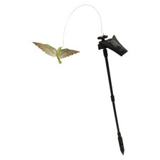 Solar Powered Flickering Hummingbird Garden Stake