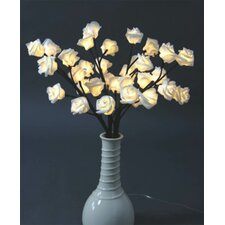 Decorative 24 Light LED Rose Branch