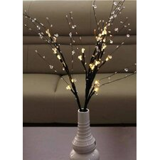 Decorative Battery Operated 24 Light LED Bead Branch
