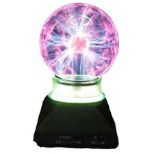 "Plasma Ball 7.25"" H Table Lamp with Sphere Shade"
