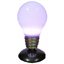 "Purple LED Light 14.27""H Table Lamp with Novelty Shade"
