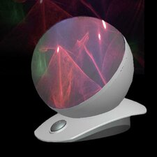 """Laser 5"""" H Table Lamp with Sphere Shade"""