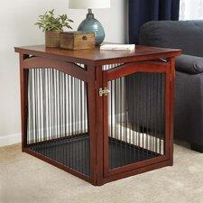 2-in-1 Configurable Pet Crate & Gate