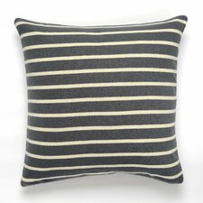 Beach Stripes Cotton Throw Pillow