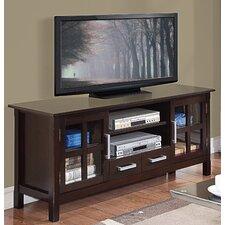 Kitchener TV Stand in Dark Walnut