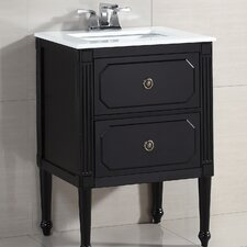 "Versaille 25"" Single Bathroom Vanity Set"