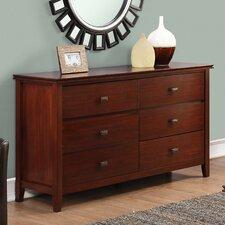 Artisan 4 Drawer Combo Dresser