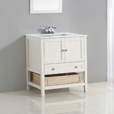 "Cape Cod 31"" Single Bathroom Vanity Set"