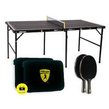 MyTLee 3 Piece Mini Table Tennis Table