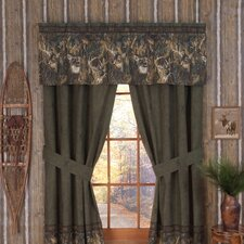 Whitetails Lined Drape Panels (Set of 2)