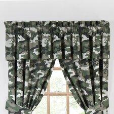 """Buckmark 88"""" Curtain Valance"""