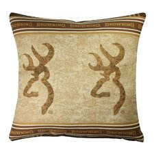 Buckmark Throw Pillow