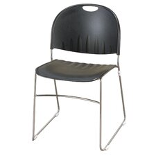 Compact Armless Stacking Chair