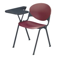 """18"""" Plastic Tablet Arm Chair (Set of 3)"""