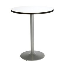 Round Pedestal Table with Round Base