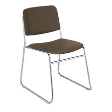 Armless Classroom Stacking Chair with Cushion