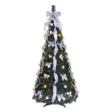 6' Artificial Christmas Tree with 350 Lights