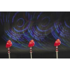 Laser Light Overhead Projector Christmas Decoration (Set of 3)