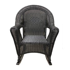 Wicker Rocking Chair Patio Furniture