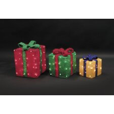 3 Piece 105 Light 3D Gift Box Set