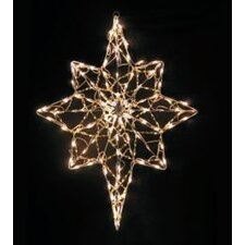 Iridescent Bethlehem Star Christmas Decoration