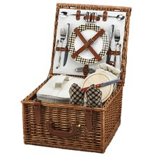Cheshire Basket for Two in Plaid