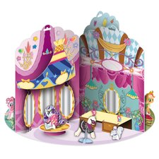 My Little Pony 3D Ponyville Pop-up Book