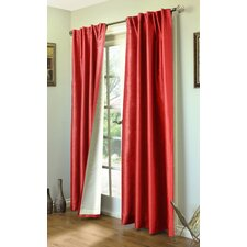 Ming Lined Room Darkening Curtains (Set of 2)