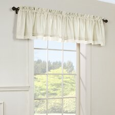 """Rhapsody Lined 54"""" Voile Valance"""