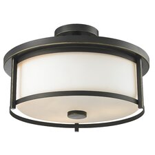 Savannah 3 Light Semi Flush Mount