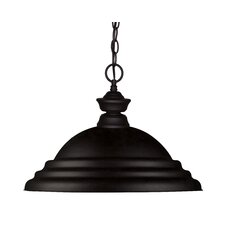 Riviera 1 Light Bowl Pendant