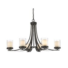 Willow 6 Light Candle-Style Chandelier