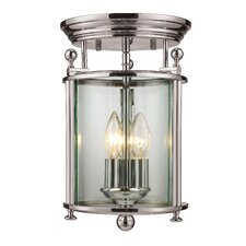 Wyndham 3 Light Semi-Flush Mount