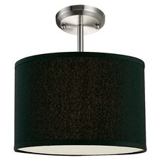 Albion 1 Light Drum Foyer Pendant