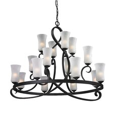 Arshe 16 Light Chandelier
