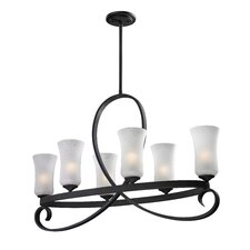 Arshe 6 Light Chandelier