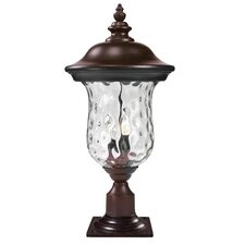 "Armstrong 2 Light 23.25"" Outdoor Post Lantern"